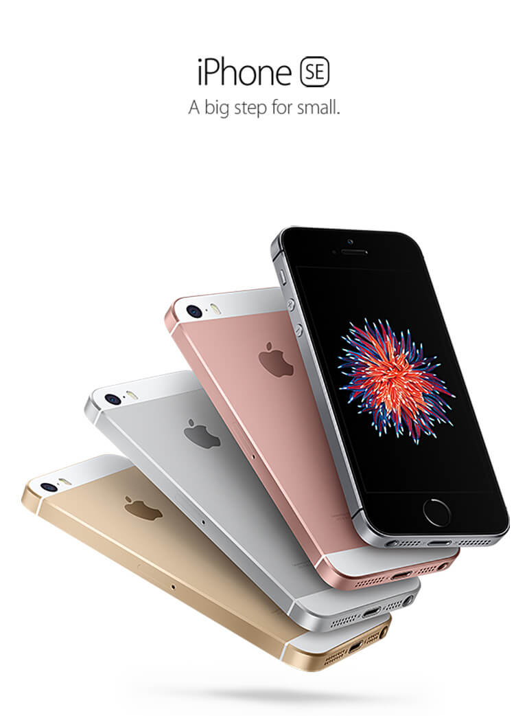 iPhone SE; A big step for small.